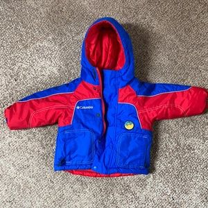 Columbia reversible toddler coat